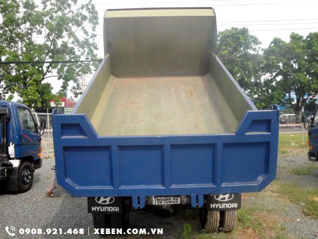 thùng ben hyundai hd65