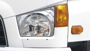 xe ben Hyundai 1.75 tấn đèn pha