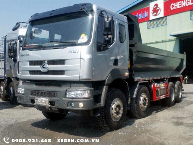 Xe ben Chenglong 17.5 tấn 4 chân LZ3313PEF